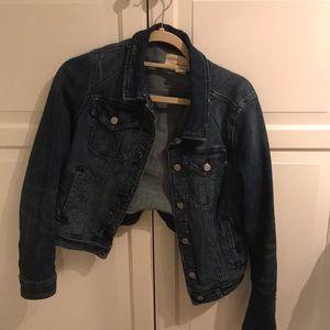 Anthropologie jean jacket